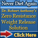 Dr Robert Anthony's Zero Resistance Weight Loss